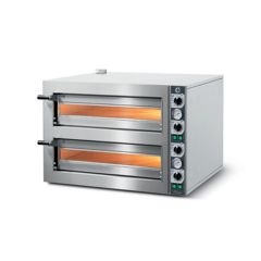 CUPPONE Tiziano Series Double Deck Electric Pizza Oven TZ430/2M