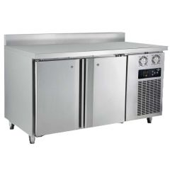 FRESH 2 Doors Counter Refrigerator Chiller (5FT C/W BackSplash) DWF15M2-76B
