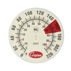 GENERIC 2237-04-8 ESPRESSO MILK FROTHING THERMOMETER USA-METER-008