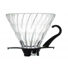 HARIO Glass Dripper Black VDG-01B