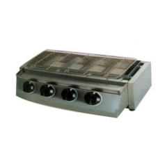 Golden Bull Gas Charbroiler with 4 Burners WGC-750