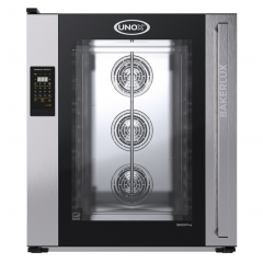 UNOX BAKERLUX SHOP.PRO 10 600X400 LED CONTROL CAMILLA OVEN ( 1 UNIT DOOR DEFECT SERIAL#2018F0045840 ) XEFT-10EU-ELRV