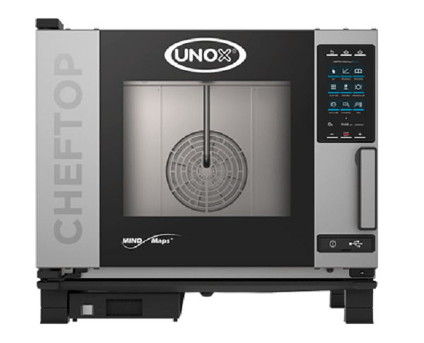 UNOX CHEFTOP Mind Maps 5 Trays GN1/1 Plus Electric Combi Oven XEVC-0511-GPR
