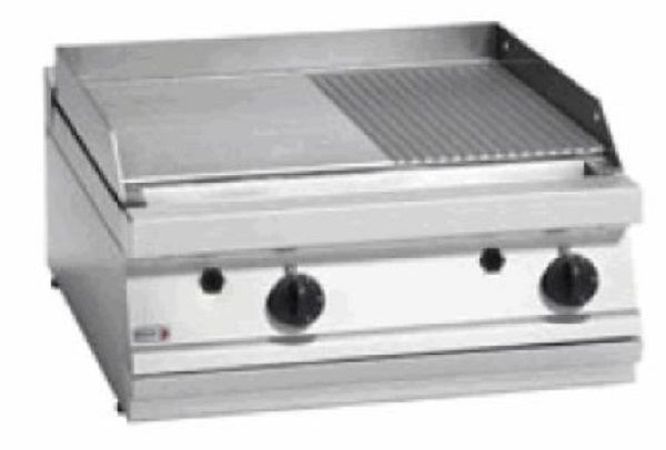 FAGOR Gas Smooth & Ribbed Griddle Countertop FTG7-10VL+R