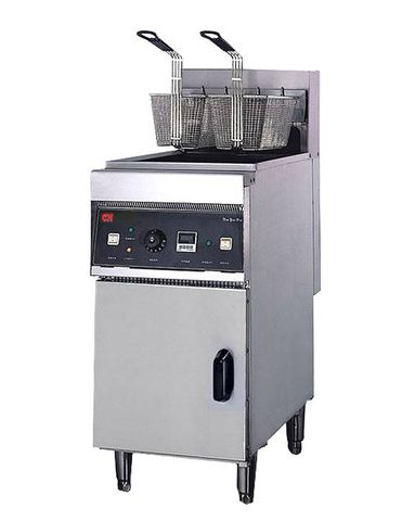 CN 28L Single Tank Electric Fryer With Cabinet EF28L