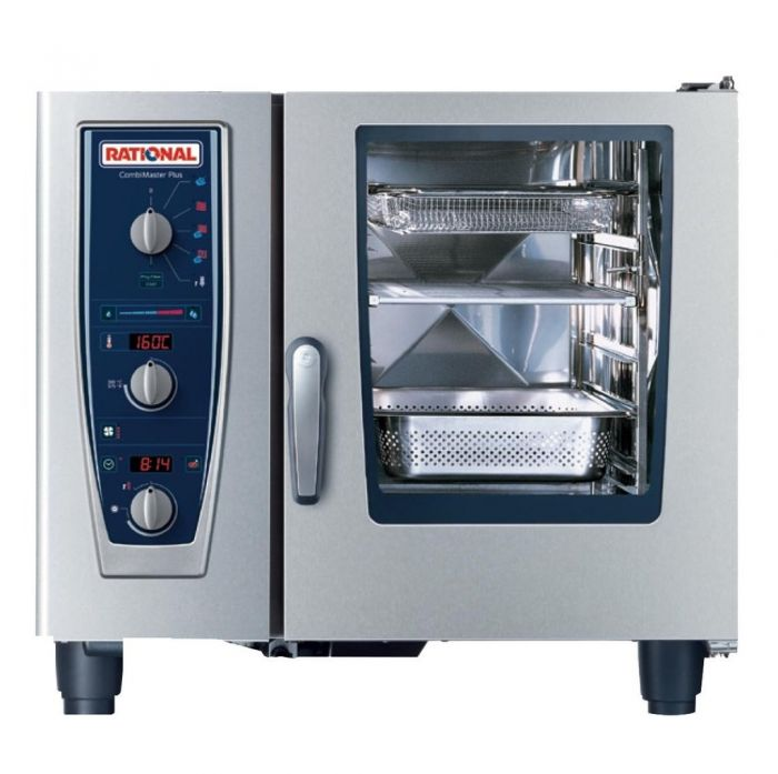 RATIONAL CombiMaster Electric Oven 6 Tray 1/1 GN (3NAC 415V) CM 61E