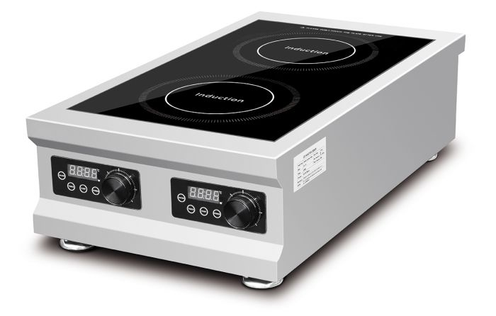 A.P.i 2 Zone Table Top Induction Cooker CT-TDL
