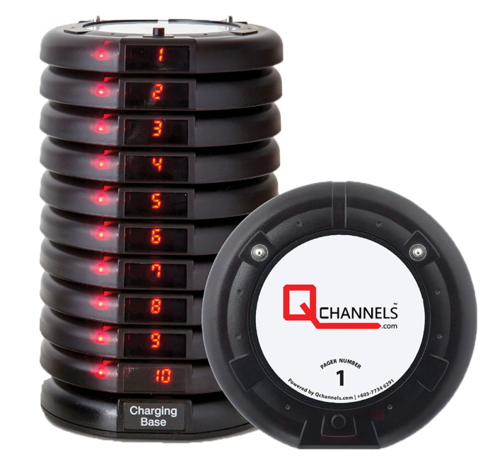 QCHANNELS Digital Paging System