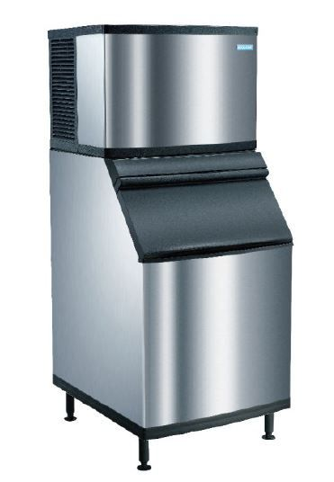 KOOLAIRE ES Series 660 Ice Cube Machine c/w Imported Ice Bin ES0662A-251+A550