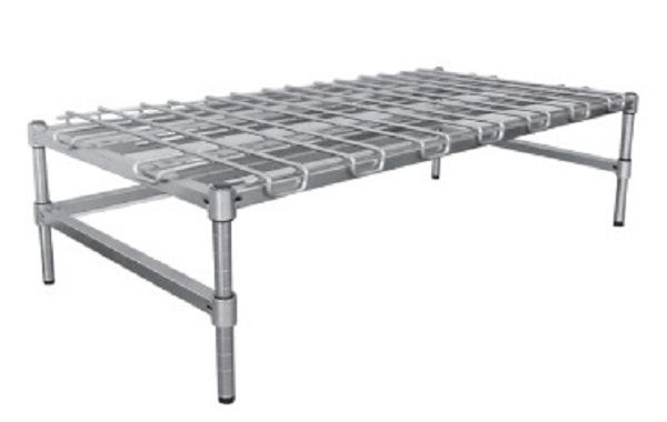 MAXEL Heavy Duty Poly Brite Dunnage Rack D2448EZ8