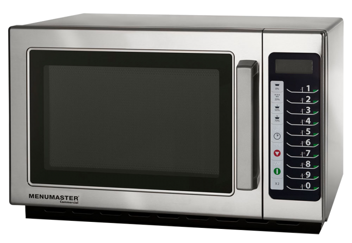MENUMASTER Commercial Microwave Model RCS511TS