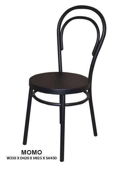 Momo Dining Chair | Steel Frame in Epoxy