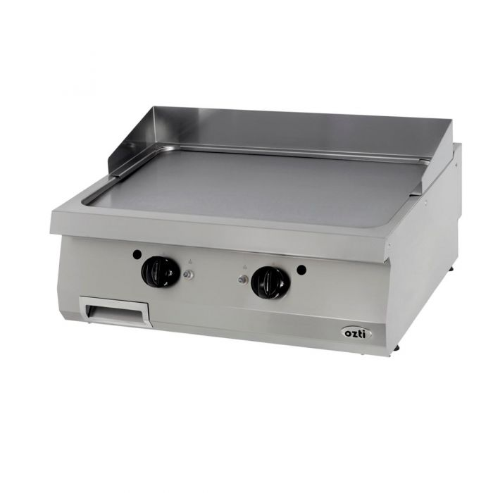 OZTI Double Electric Countertop Grill & Griddle Plate OGE-8070