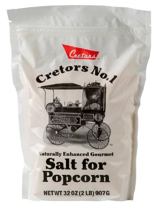 CRETORS Naturally Flavored Gourmet Salt for Popcorn (907g/Bag)