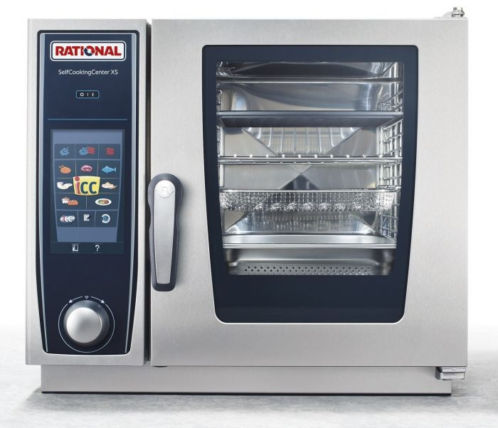 RATIONAL SelfCooking Center XS Electric Combi Oven 6 Tray 2/3GN (3NAC 415V) SCC XS 623E