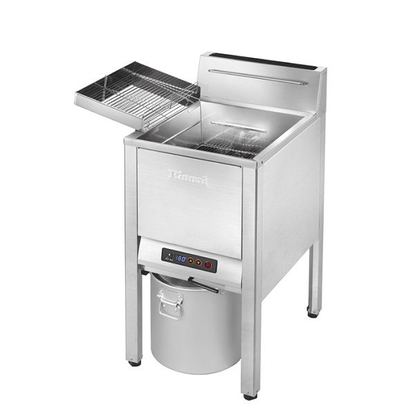 RINNAI Single Tank Floor-Standing Gas Fryer with Safety Valve RFA-227G