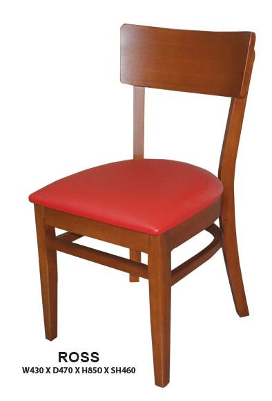 Ross Dining Chair | Cushion Seat