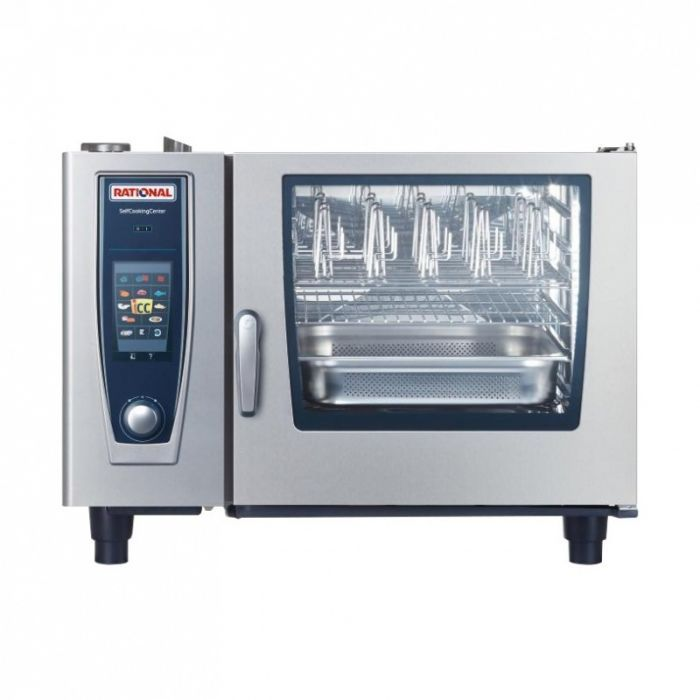 RATIONAL SelfCooking Center Gas Combi Oven 6 Tray 2/1GN (1NAC 230V) SCC 62G