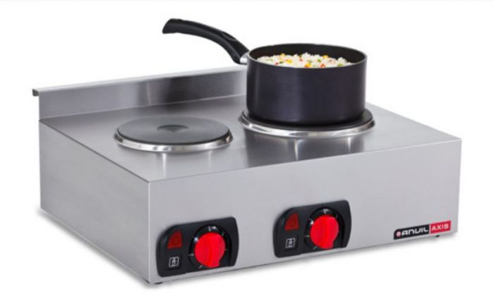 ANVIL Stove Top Double Plate Electric STA0002
