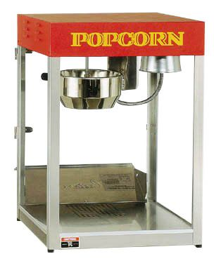 CRETORS 12oz T-3000 Red Top Popper Popcorn Machine 12T3000P