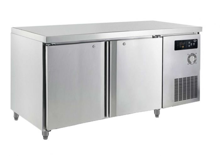 FRESH 2 Doors Counter Refrigerator Freezer (5FT) K-DWF15M2-76