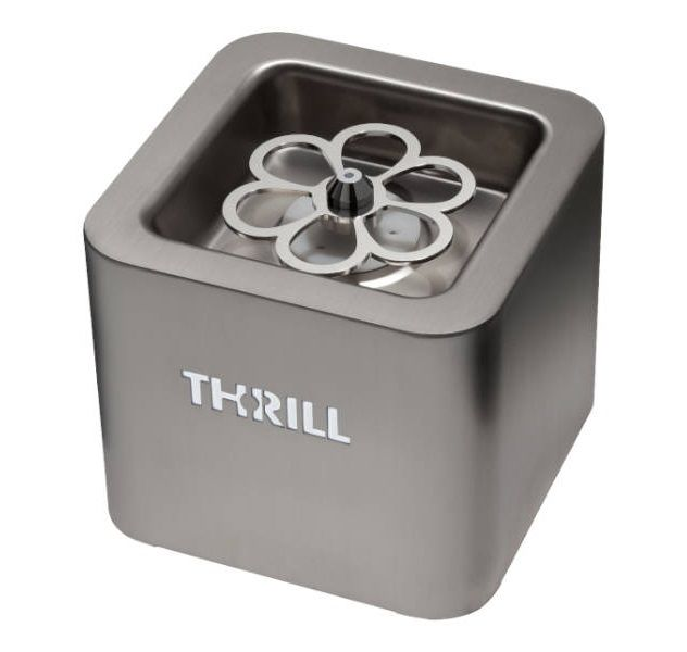 THRILL Glass Chiller Vortex Cube come with  CO2 Gas