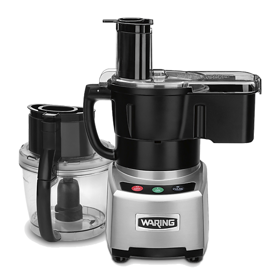 Waring 4 Quart Commercial Food Processor WFP16SCDE
