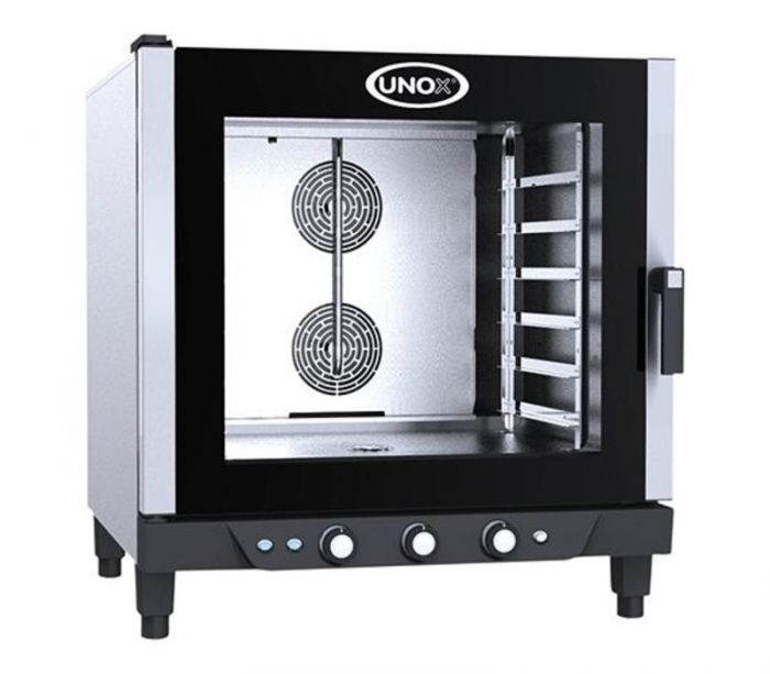 UNOX BAKERLUX Dynamic XB693 6 Trays 600x400 Electric Manual Panel Oven